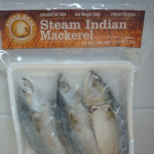 Asean Seas brand Steamed Indian Mackerel 200g