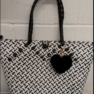 Elegant Native Bag, Bayong, From the Philippines, Striped Colour